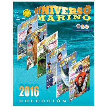 Colección de Revistas de Universo Marino del 2016